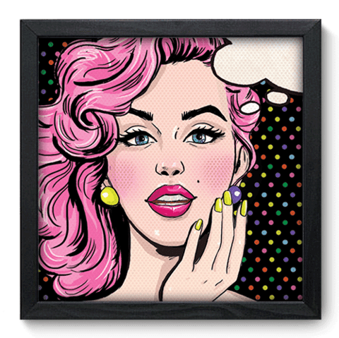Quadro Decorativo - Pop Art - 078qdvp