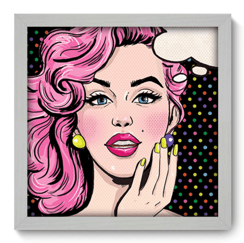 Quadro Decorativo - Pop Art - 078qdvb