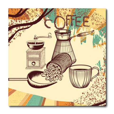 Placa Decorativa - Café - 0796plmk