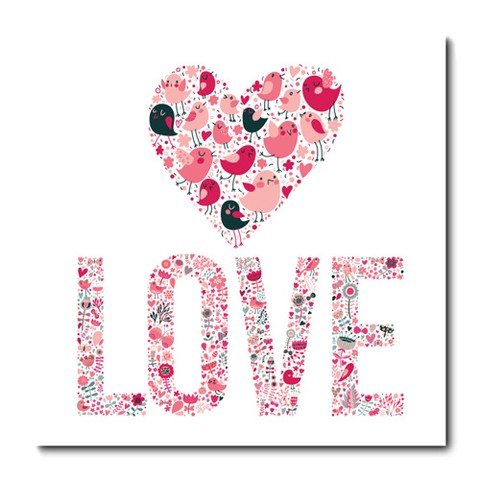 Placa Decorativa - Love - 0799plmk