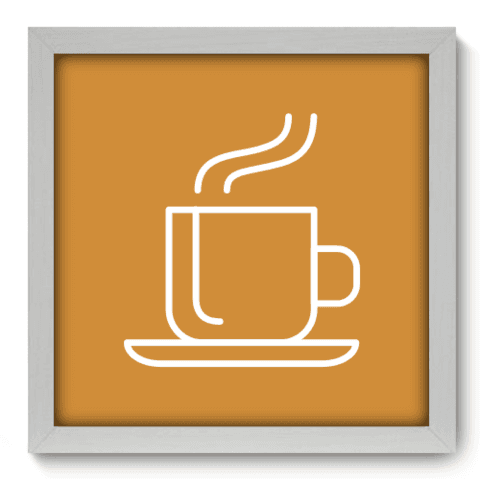 Quadro Decorativo - Coffee - 079qdcb