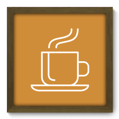 Quadro Decorativo - Coffee - 079qdcm