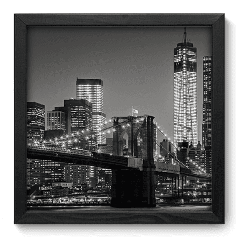 Quadro Decorativo - New York - 080qdmp
