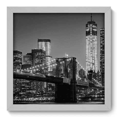 Quadro Decorativo - New York - 080qdmb