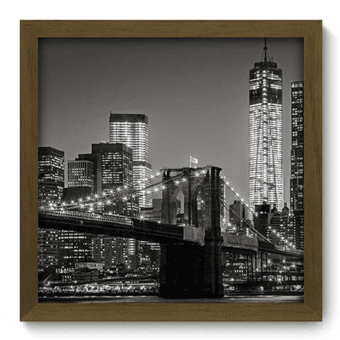 Quadro Decorativo - New York - 080qdmm