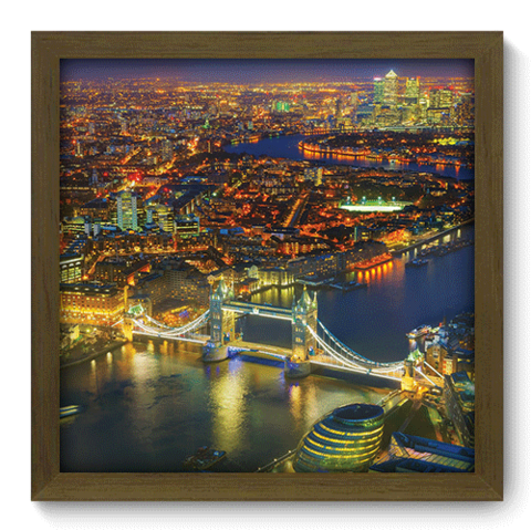 Quadro Decorativo - Londres - 082qdmm