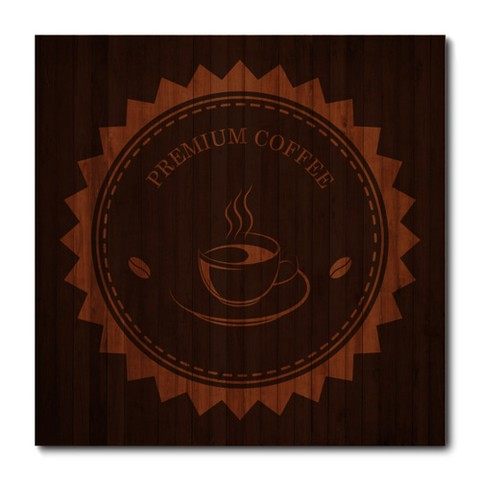 Placa Decorativa - Premium Coffee - 0859plmk