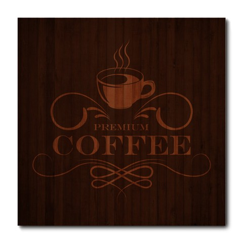 Placa Decorativa - Premium Coffee - 0860plmk