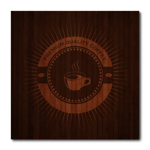 Placa Decorativa - Premium Coffee - 0861plmk
