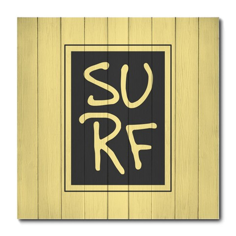 Placa Decorativa - Surf - 0863plmk