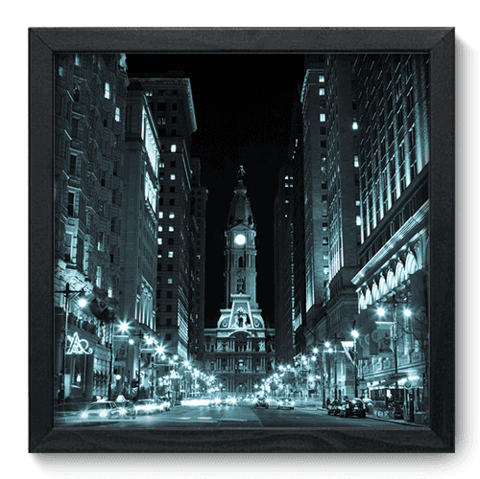 Quadro Decorativo - Philadelphia - 088qdmp
