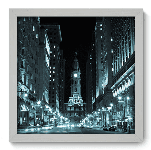 Quadro Decorativo - Philadelphia - 088qdmb