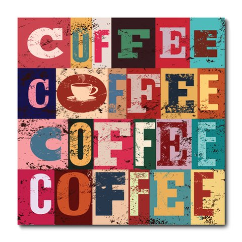Placa Decorativa - Café - 0949plmk