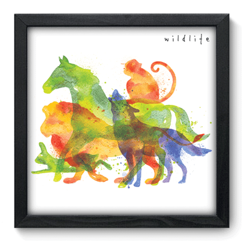 Quadro Decorativo - Wildlife - 094qdsp