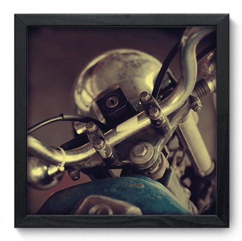 Quadro Decorativo - Moto Antiga - 105qdvp