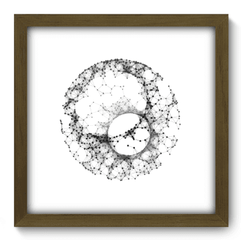 Quadro Decorativo - Abstrato - 107qdam