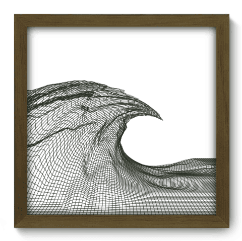 Quadro Decorativo - Abstrato - 110qdam
