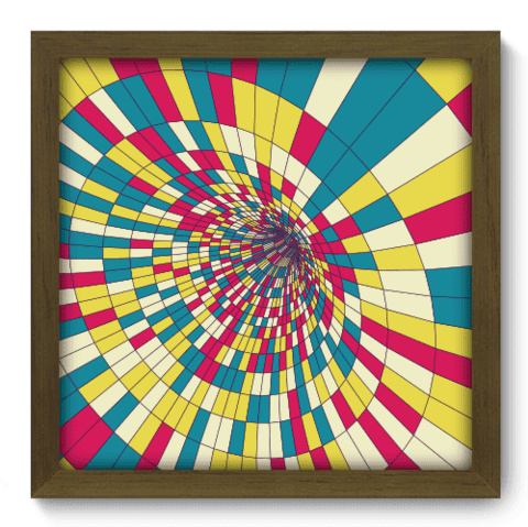Quadro Decorativo - Abstrato - 116qdam