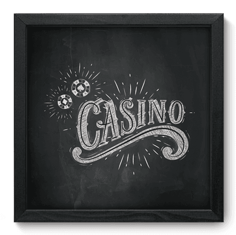Quadro Decorativo - Casino - 116qddp