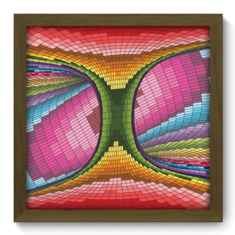 Quadro Decorativo - Abstrato - 117qdam