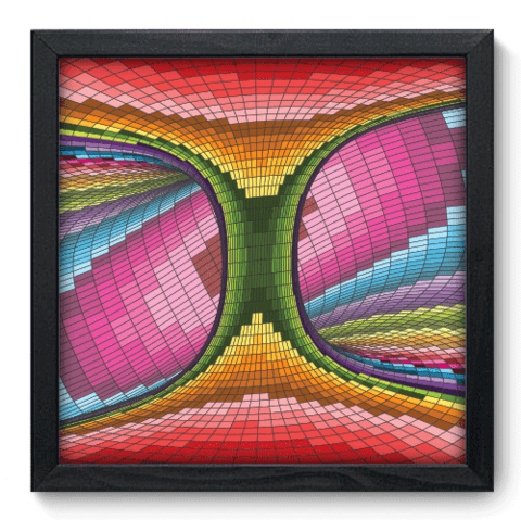 Quadro Decorativo - Abstrato - 117qdap