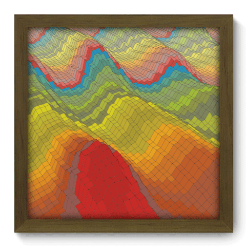 Quadro Decorativo - Abstrato - 118qdam