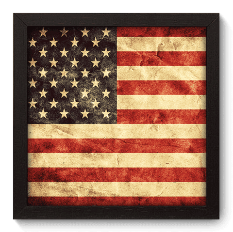 Quadro Decorativo - Estados Unidos - 118qdmp
