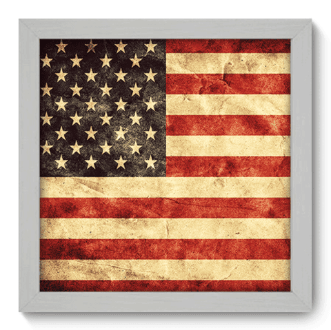 Quadro Decorativo - Estados Unidos - 118qdmb