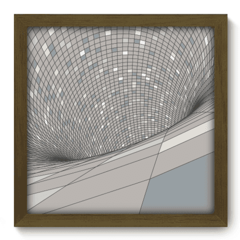 Quadro Decorativo - Abstrato - 120qdam