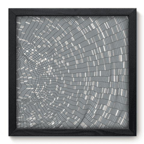 Quadro Decorativo - Abstrato - 121qdap