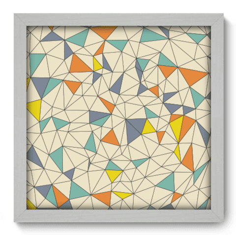 Quadro Decorativo - Abstrato - 123qdab