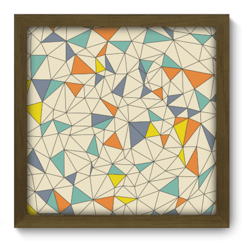 Quadro Decorativo - Abstrato - 123qdam