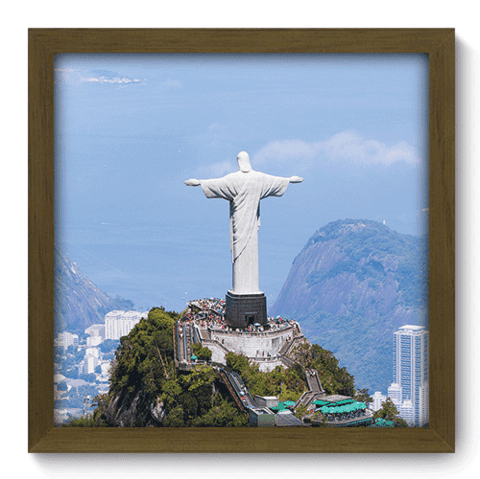 Quadro Decorativo - Cristo Redentor - 125qdmm