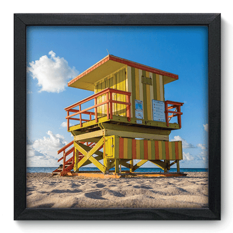 Quadro Decorativo - Miami - 127qdmp