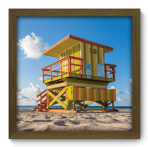 Quadro Decorativo - Miami - 127qdmm