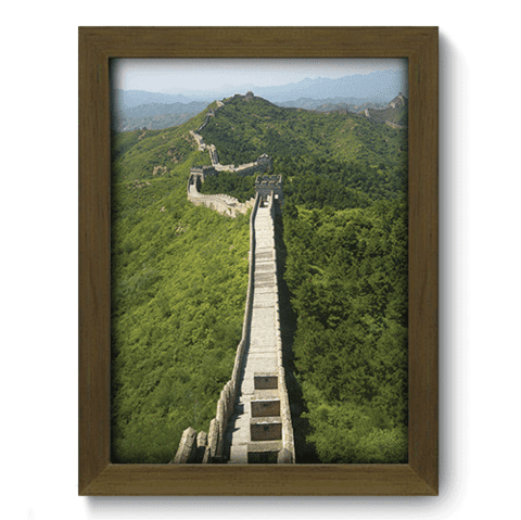 Quadro Decorativo - Muralha da China - 131qdmm
