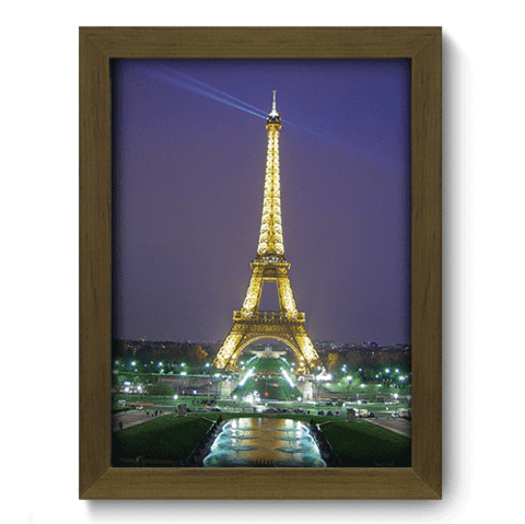 Quadro Decorativo - Paris - 132qdmm
