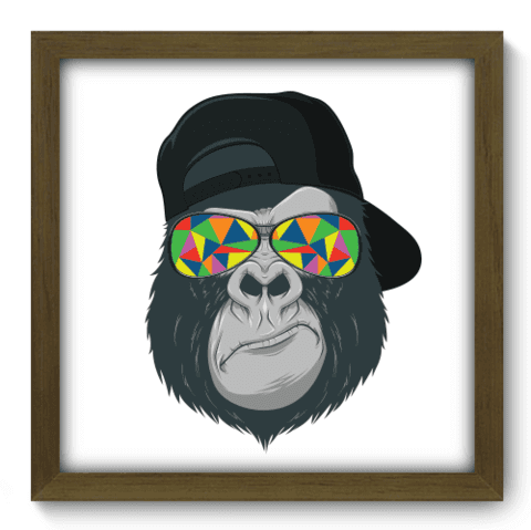 Quadro Decorativo - Bad Monkey - 134qdsm