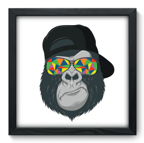 Quadro Decorativo - Bad Monkey - 134qdsp