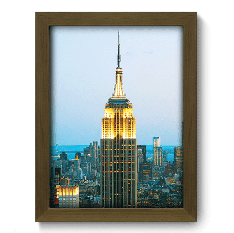 Quadro Decorativo - Empire State - 135qdmm