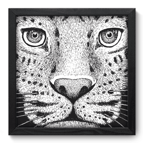 Quadro Decorativo - Leopardo - 137qdsp