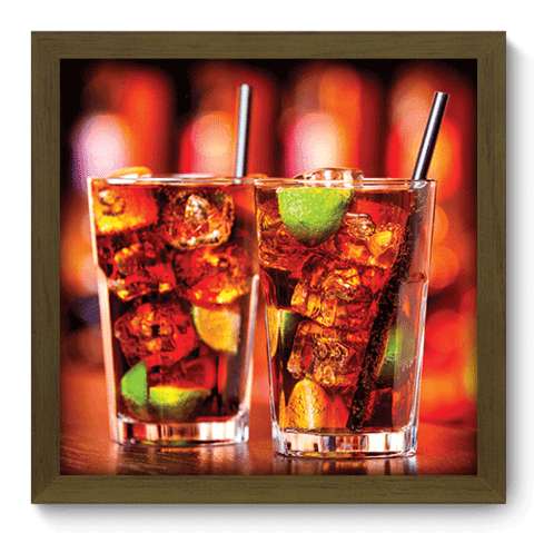 Quadro Decorativo - Drink - 141qdcm
