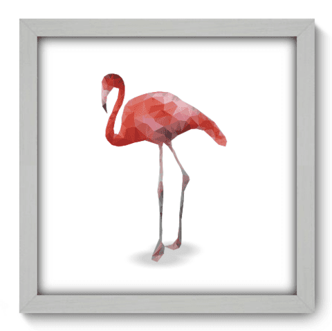 Quadro Decorativo - Flamingo - 145qdsb