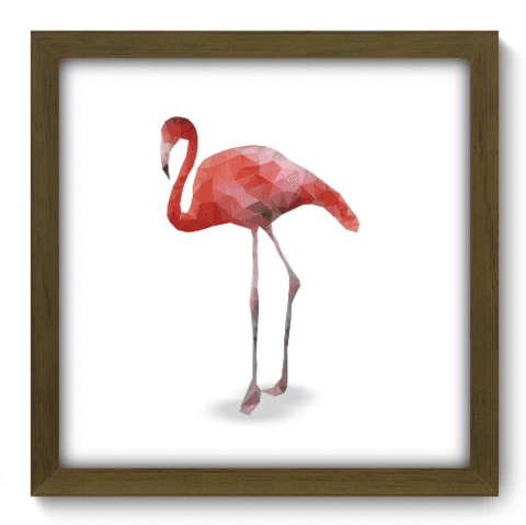 Quadro Decorativo - Flamingo - 145qdsm