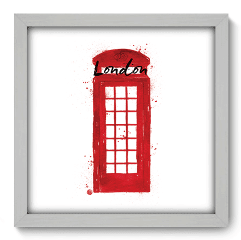 Quadro Decorativo - Londres - 157qdmb