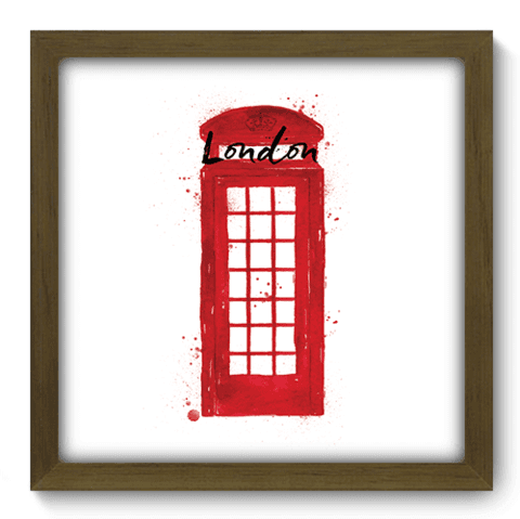 Quadro Decorativo - Londres - 157qdmm