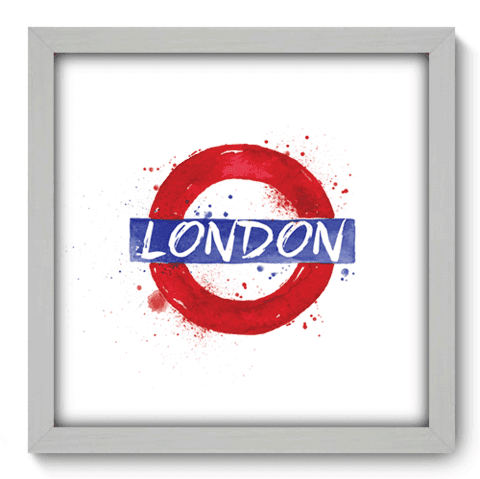 Quadro Decorativo - Londres - 160qdmb