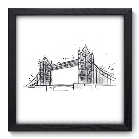 Quadro Decorativo - Londres - 161qdmp