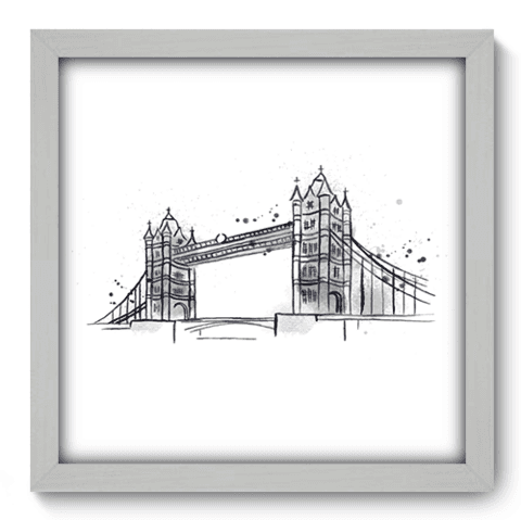 Quadro Decorativo - Londres - 161qdmb