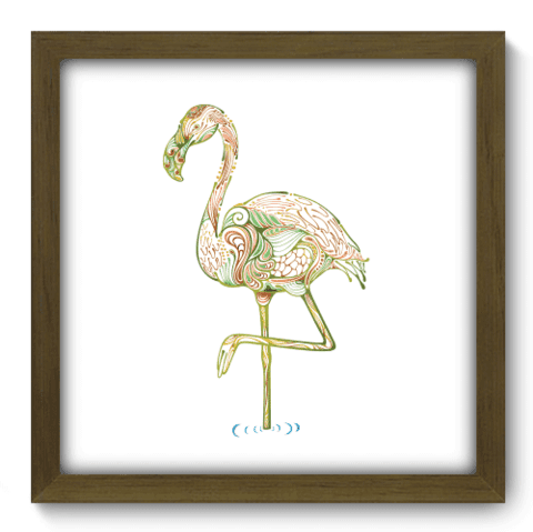 Quadro Decorativo - Flamingo - 161qdsm